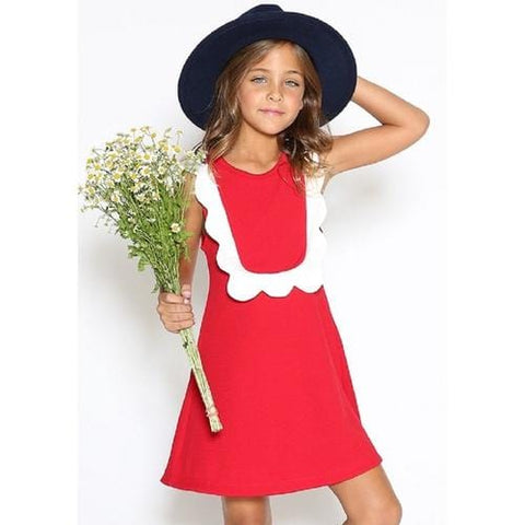 Dove Karmir Dress In Red