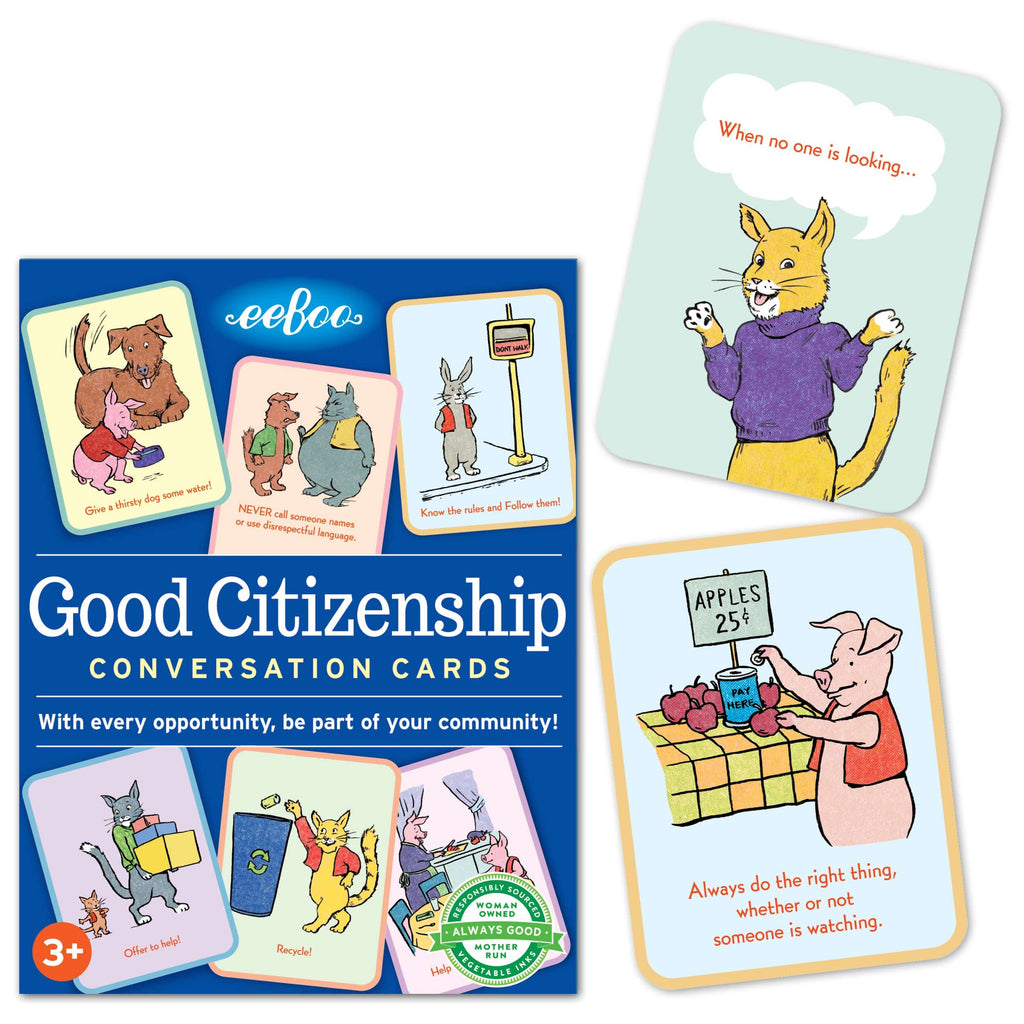 Good Citizenship Flash Cards (2ED)