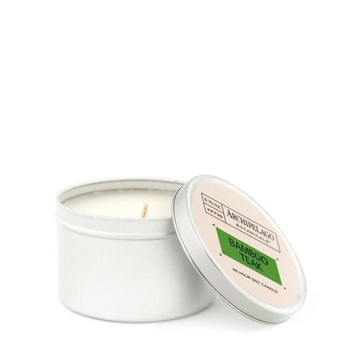Travel Tin Candle in Bamboo Teak - ANTHILL shopNplay