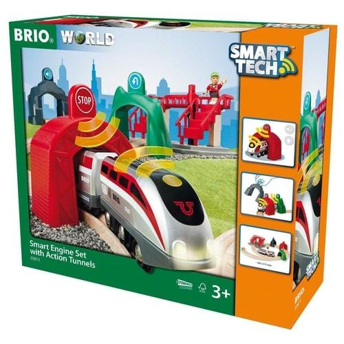 Smart Tech Engine with Action Tunnels Set - ANTHILL shopNplay