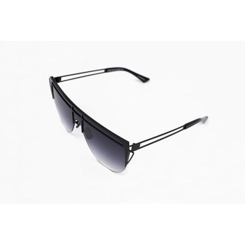 'Alien' Acetate Sunglasses In Black