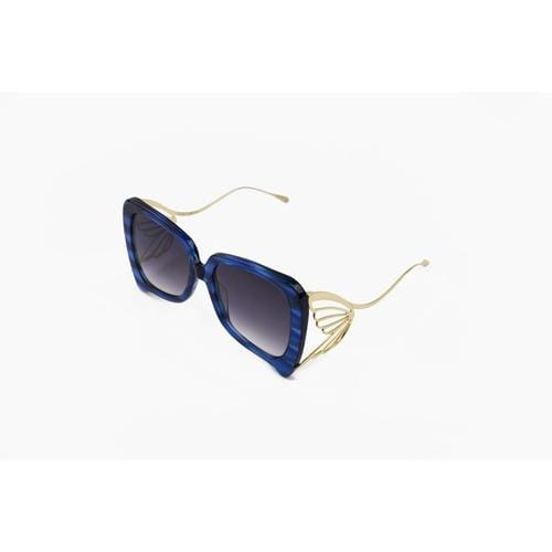 'Caterpillar' Sunglasses In Blue - ANTHILL shopNplay