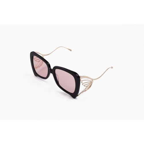 'Caterpillar' Sunglasses In Blush