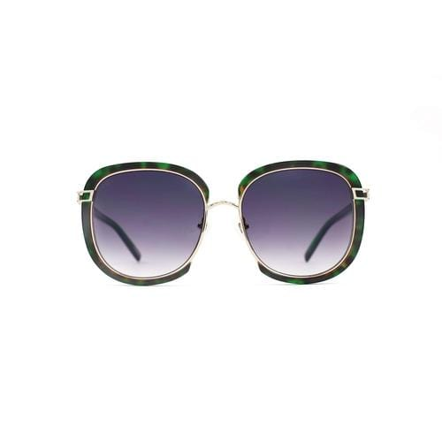 'Galaxy-X' Oversized Sunglasses In Black