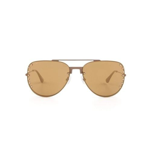 'Sugarland' Acetate Sunglasses In Gold - ANTHILL shopNplay