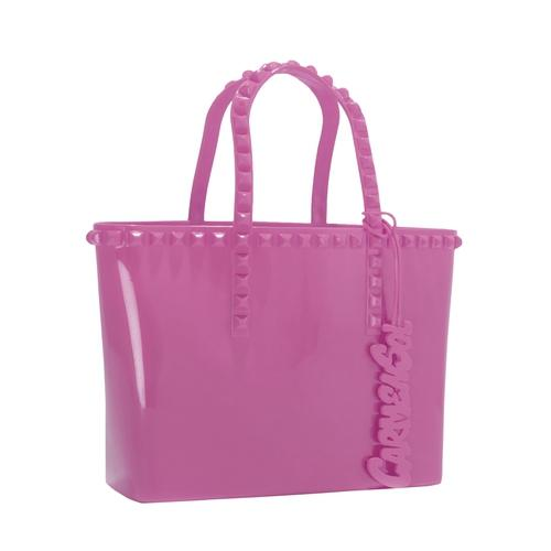'Grazia' Mini Tote in Fuchsia