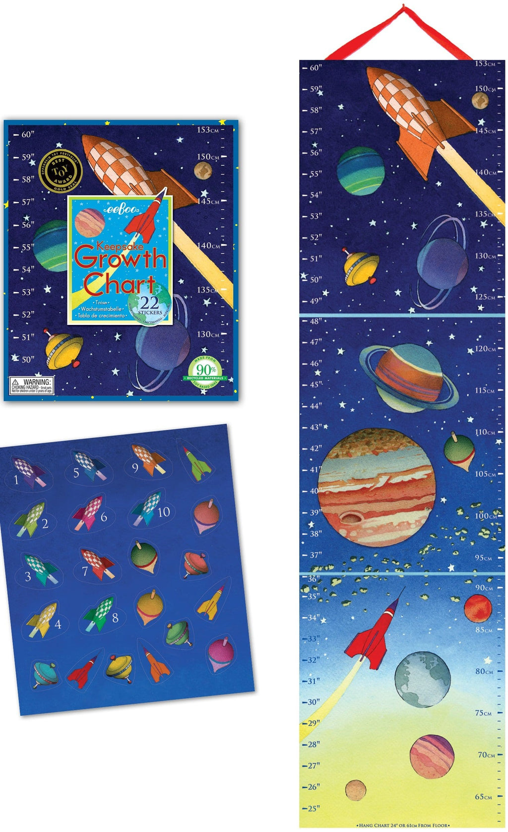 Outer Space Growth Chart E