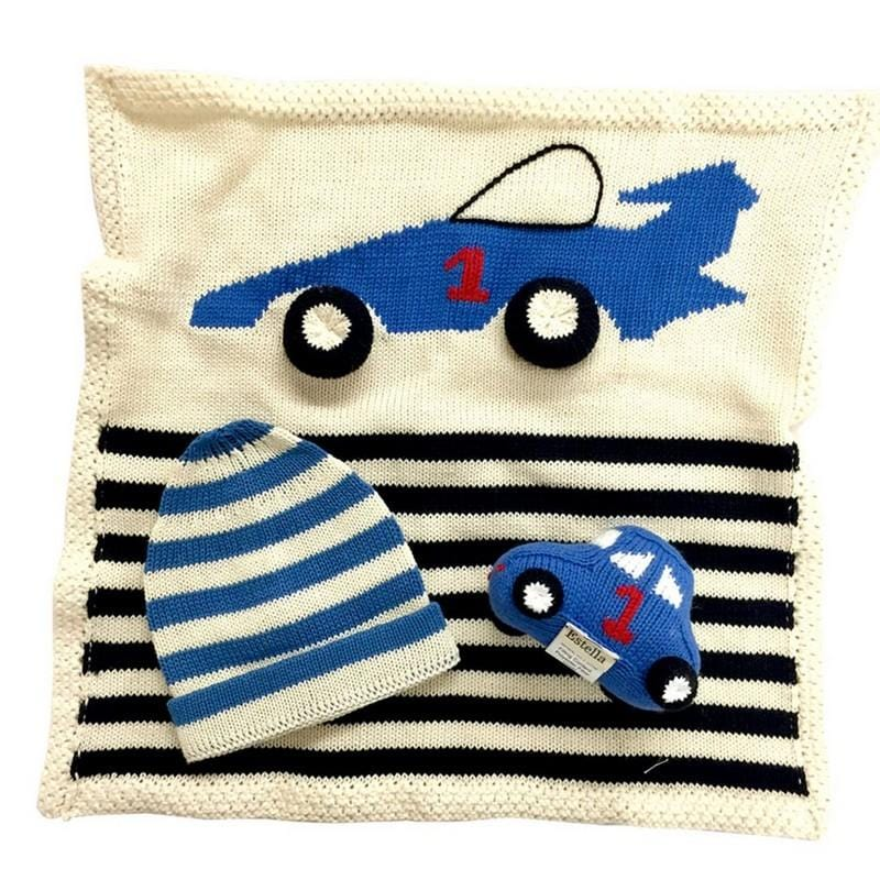 Baby Security Blanket Car - ANTHILL shopNplay
