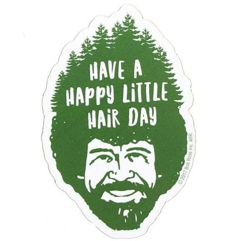 Bob Ross - Hair Funky Chunky Magnet - ANTHILL shopNplay