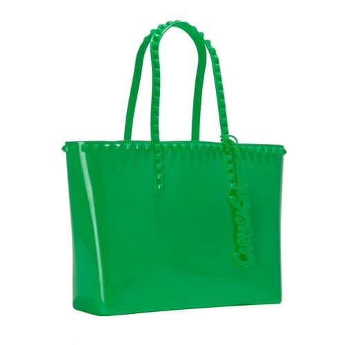 'Seba' Mid Tote in Green - ANTHILL shopNplay