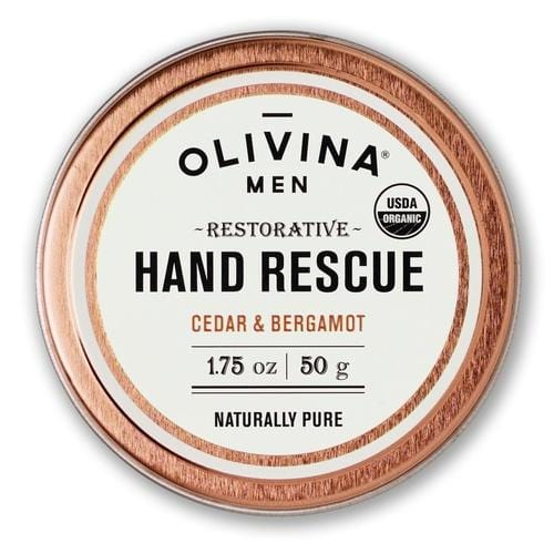 USDA Organic Restorative Hand Rescue Salve in Cedar and Bergamot
