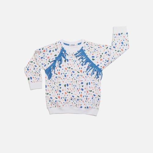 'Rain' Sweatshirt in Multicolor