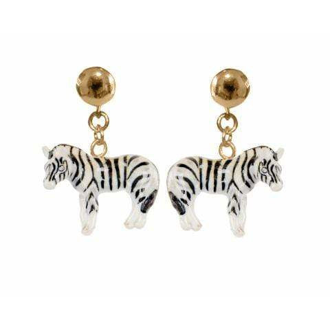 Nach Zebra Earrings - ANTHILL shopNplay