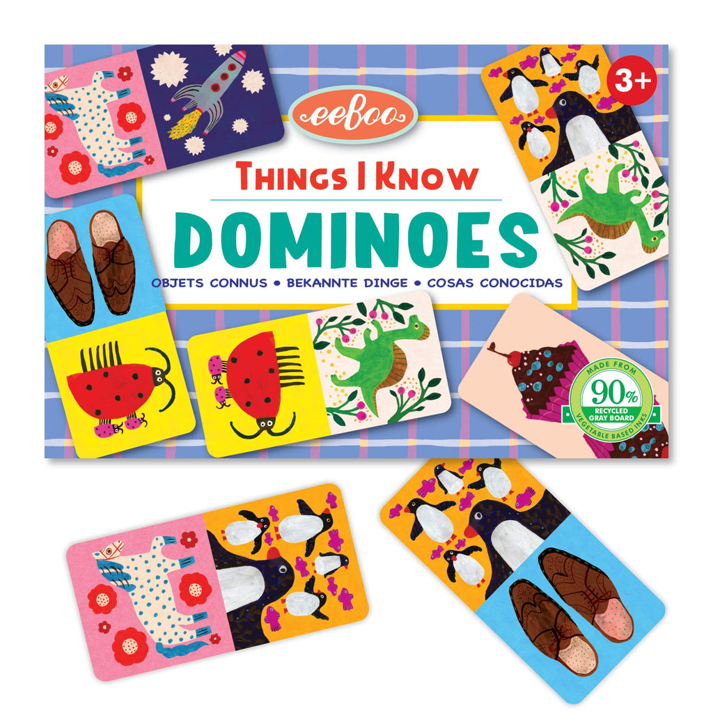 Things I Know Little Dominoes Game