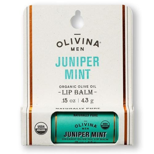 Organic Lip Balm in Juniper Mint - ANTHILL shopNplay