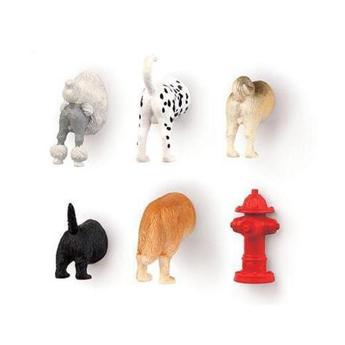 Dog Butt Magnets, Set of 6 - ANTHILL shopNplay