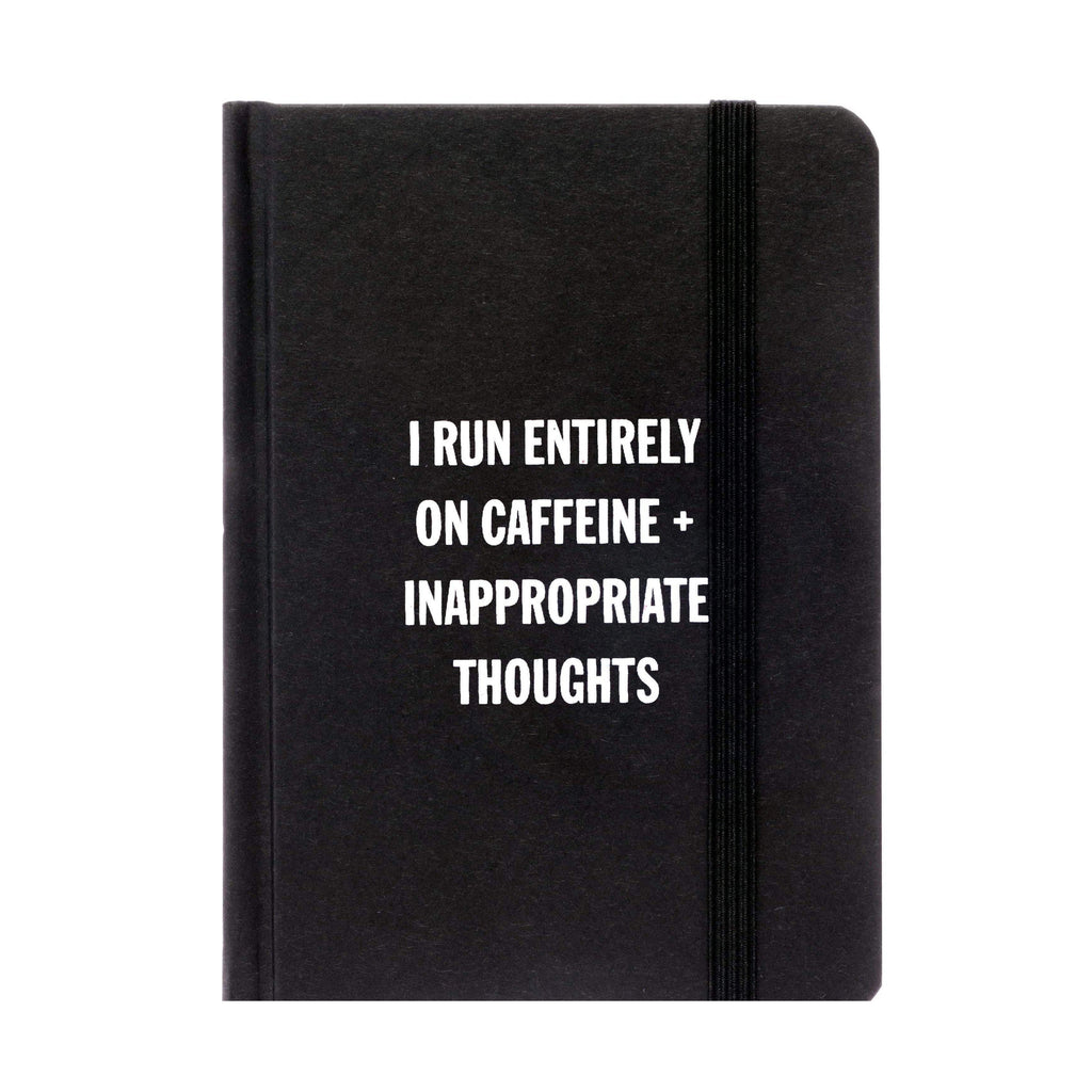 I Run Entirely On Caffine Notebook