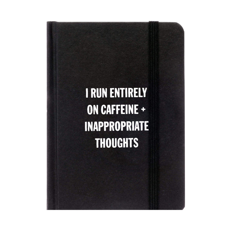 I Run Entirely On Caffine Notebook - ANTHILL shopNplay