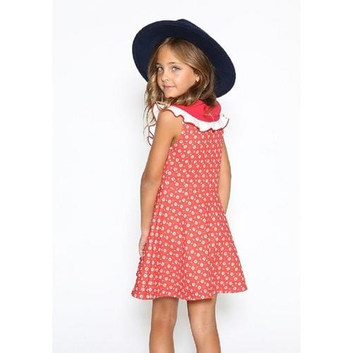 Nine Karmir Dress In Red - ANTHILL shopNplay