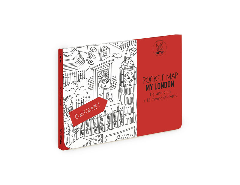 Coloring Pocket Map - London