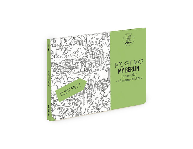 Coloring Pocket Maps - Berlin