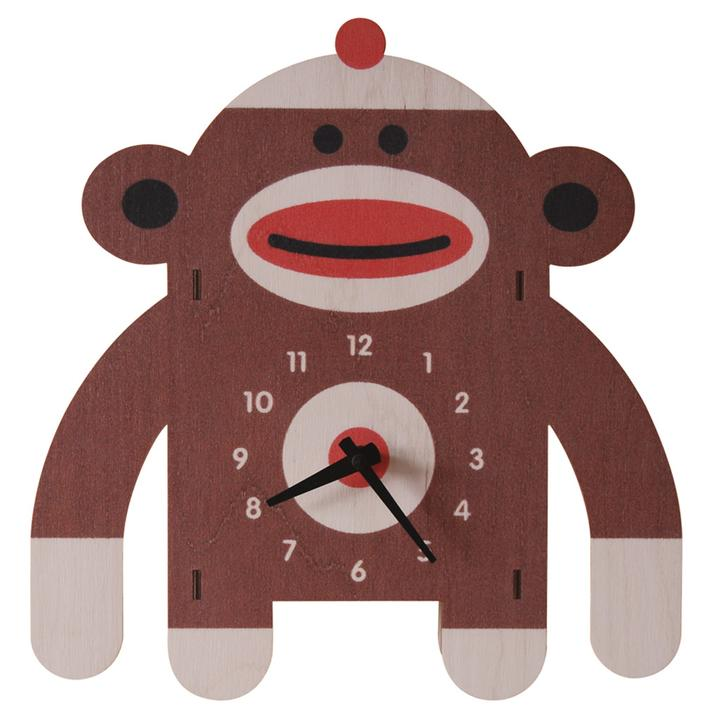 Sockmonkey Wall Clock