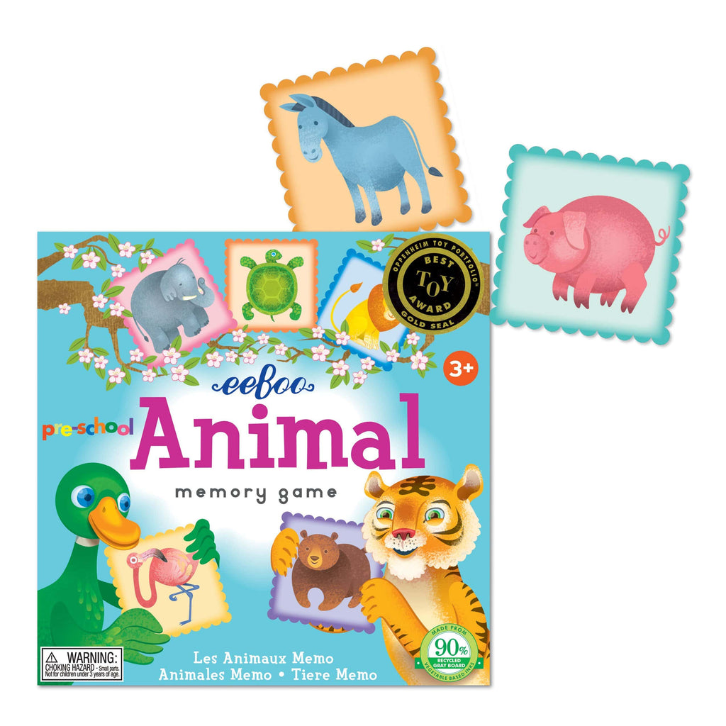 Pre-school Animal Memory Matching Game (2ED)