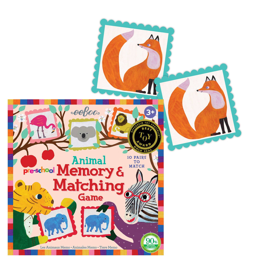Pre-school Animal Memory Matching Game (3ED)
