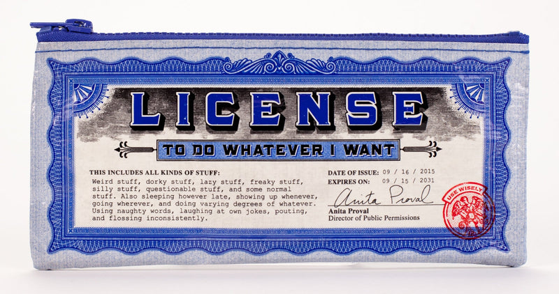 License Pencil Case