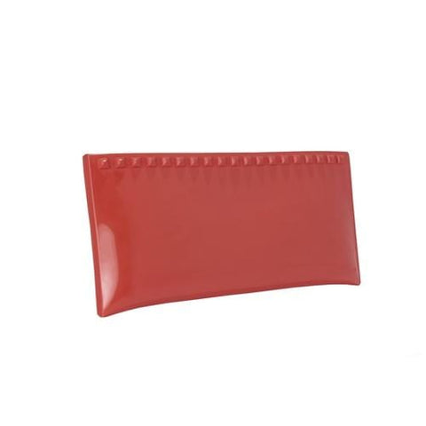 'Julian' Pochette Clutch in Red