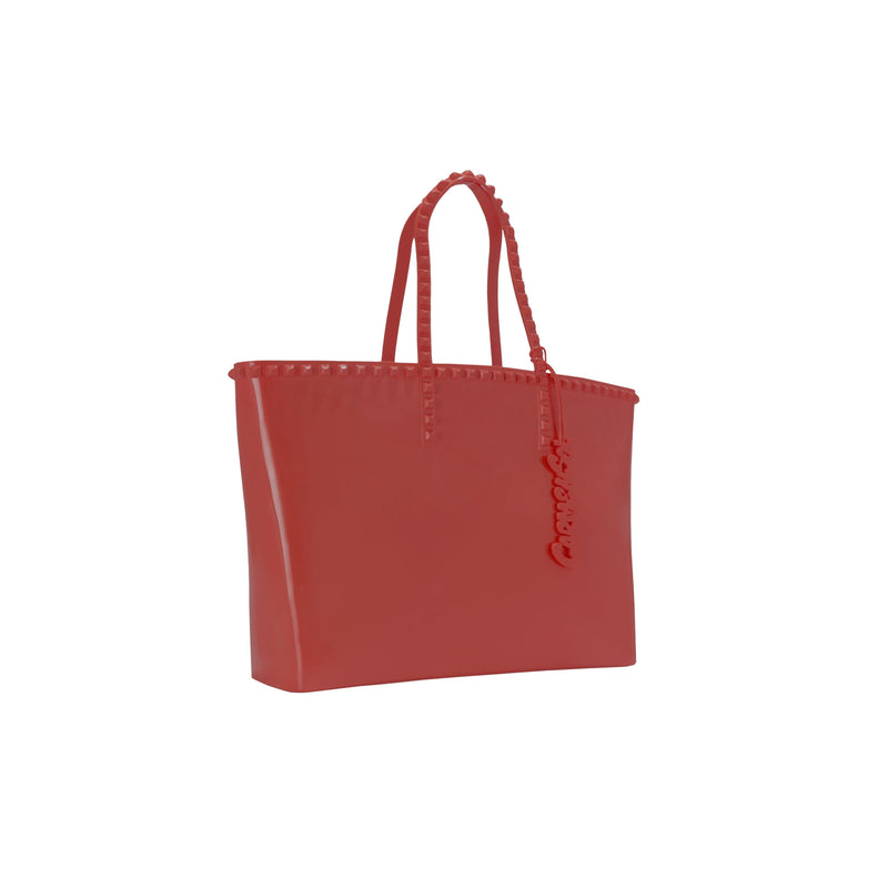 'Angelica' Large Tote in Red