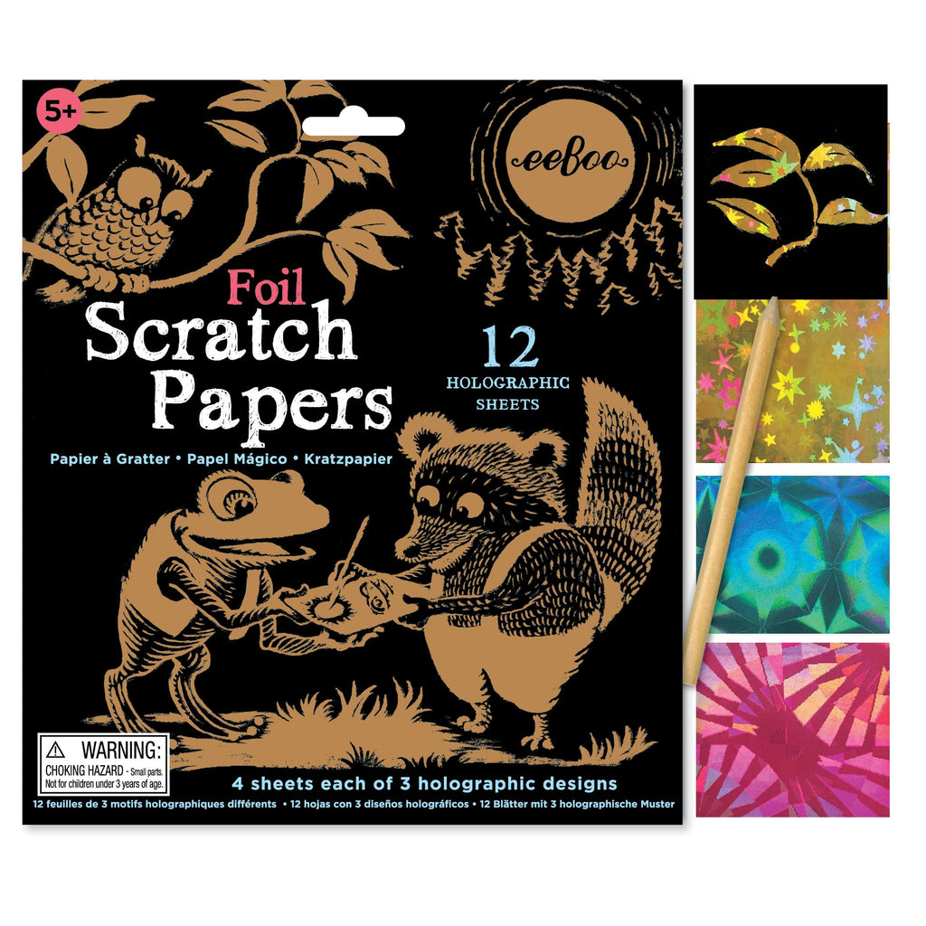 Foil Scratch Papers (3ED)