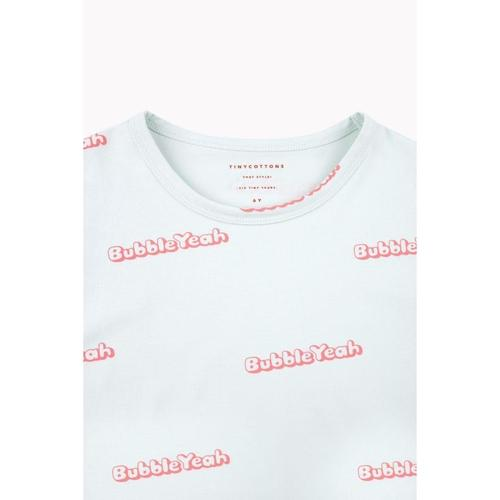 'Bubble Yeah' Short Sleeve Shirt in Light Mint - ANTHILL shopNplay