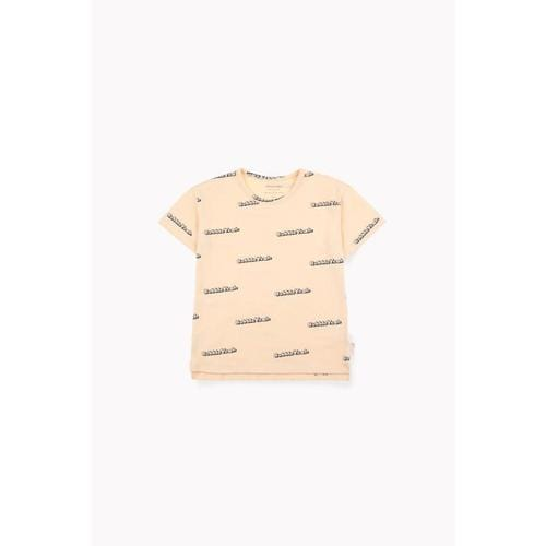 'Bubble Yeah' Short Sleeve Shirt in Cream - ANTHILL shopNplay