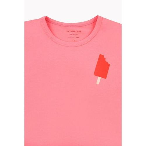 'Popsicle' Short Sleeve Shirt in Rose - ANTHILL shopNplay