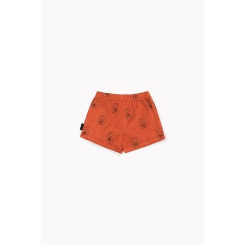 'Hello' Terry Shorts in Sienna - ANTHILL shopNplay