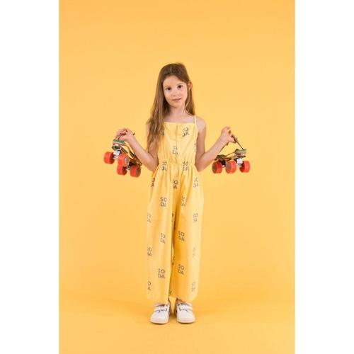'Soda' Spaghetti Strap Jumpsuit in Canary - ANTHILL shopNplay
