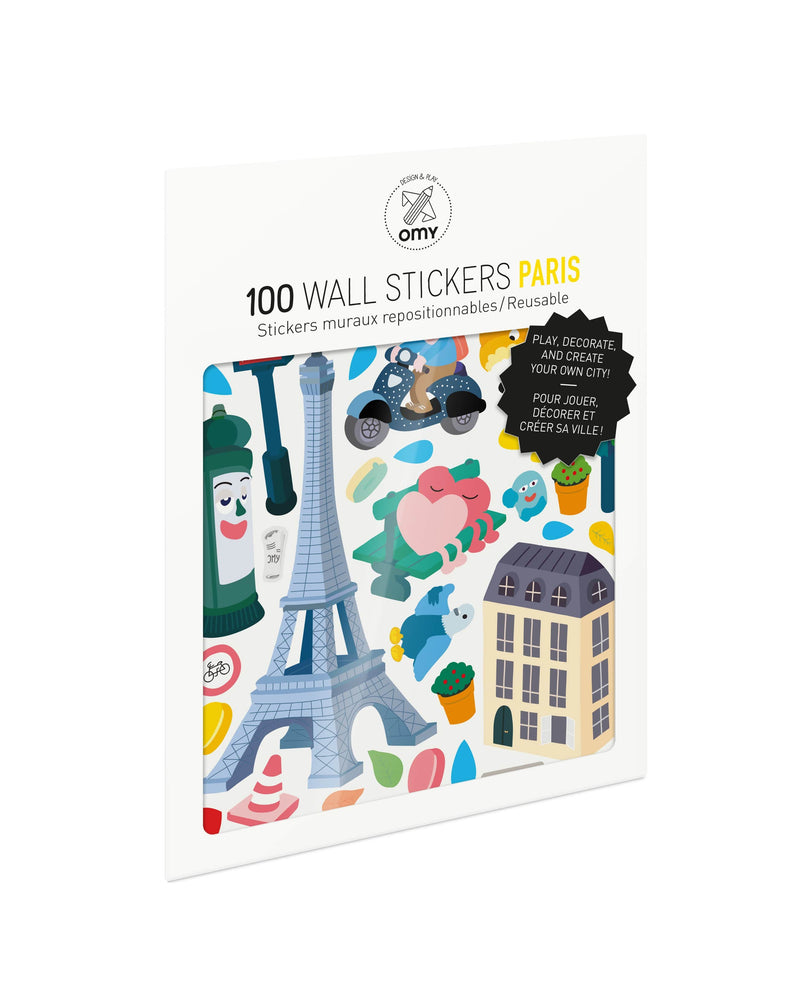 Set Of Stickers - Paris