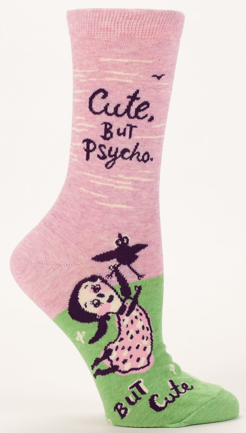 Cute. But Psycho. Crew Socks