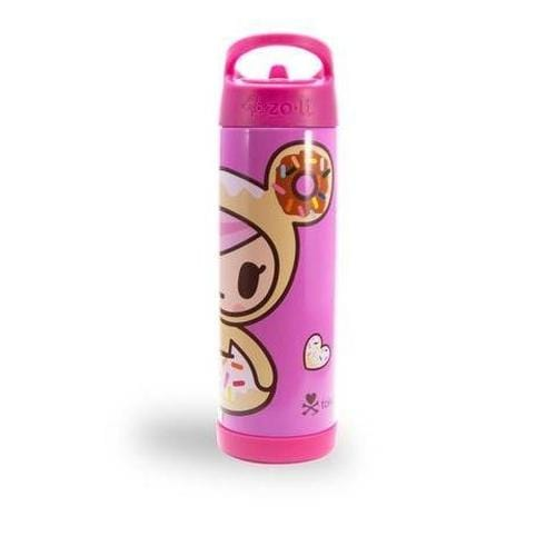 TokiPIP Insulated Drinking Bottle in Donutella Pink