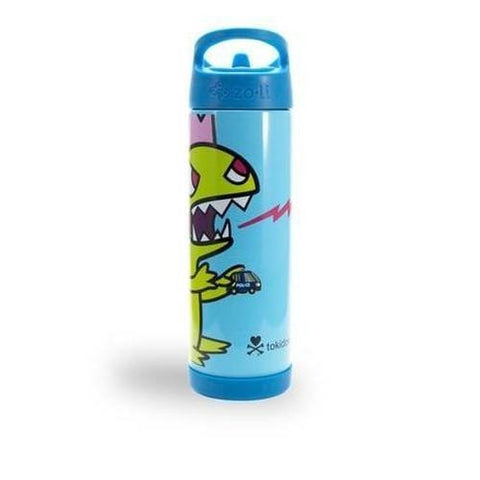 TokiPIP Insulated Drinking Bottle in Sandy Lime Green