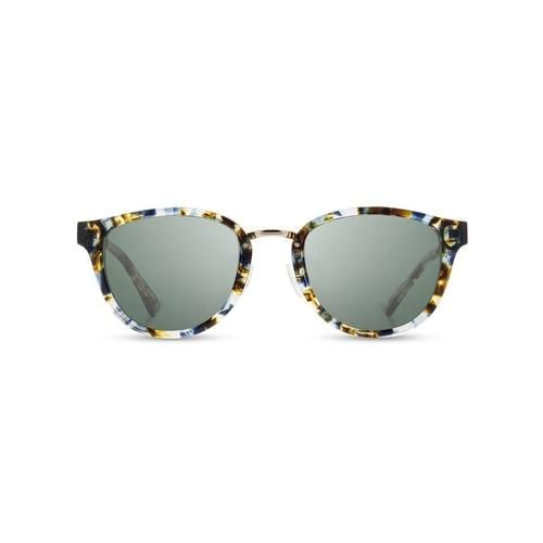 'Ainsworth' Acetate Sunglasses in Blue Nebula, Polarized