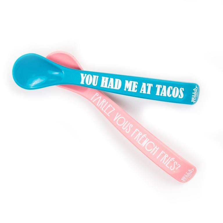 Tacos + French Fries Spoon Set