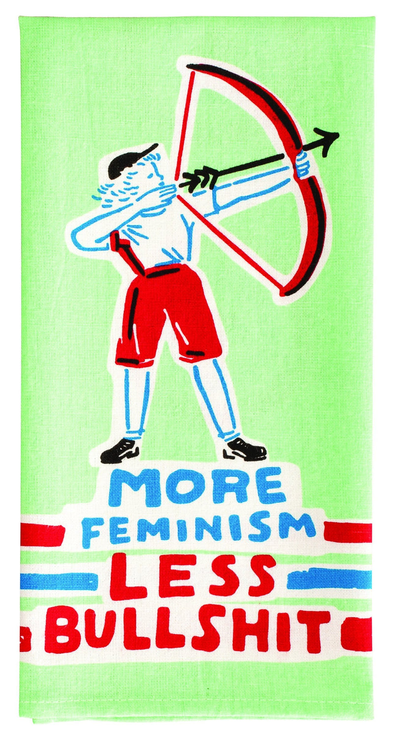 Dish Towel More Feminism