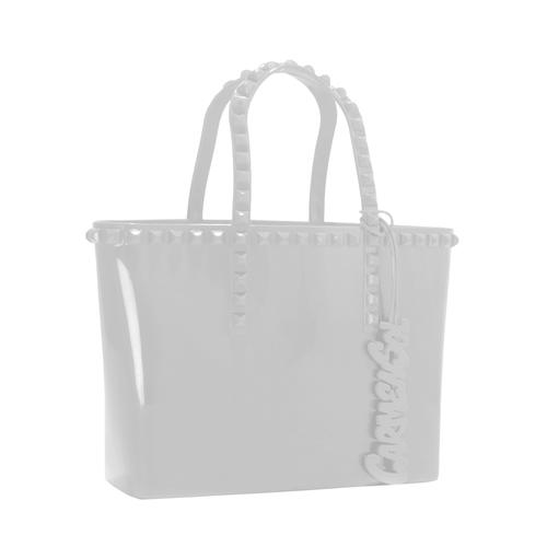 'Grazia' Mini Tote in White