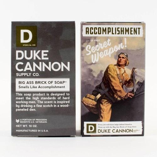 Limited Edition WWII Era Big Brick of Soap in 'Smells Like Accomplishment'