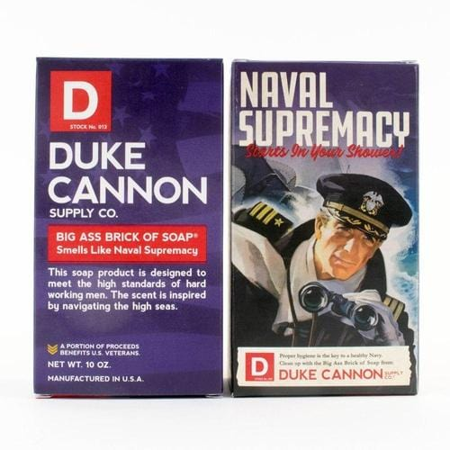Limited Edition WWII Era Big Brick of Soap in 'Smells Like Naval Supremacy'
