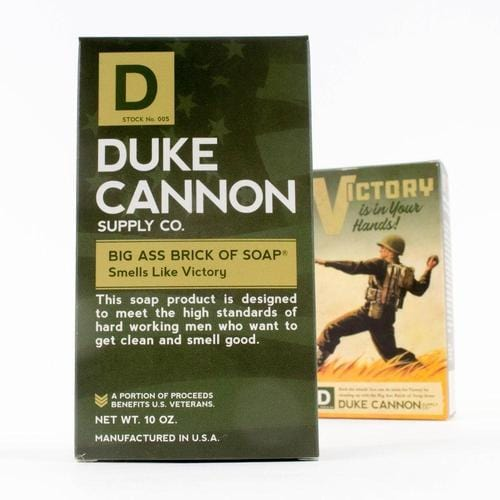 Limited Edition WWII Era Big Brick of Soap in 'Smells Like Victory'