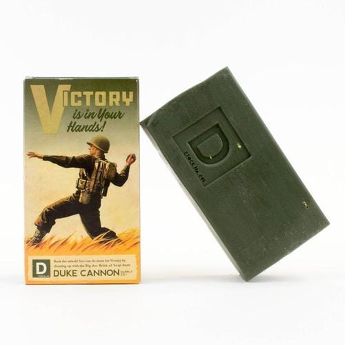 Limited Edition WWII Era Big Brick of Soap in 'Smells Like Victory' - ANTHILL shopNplay
