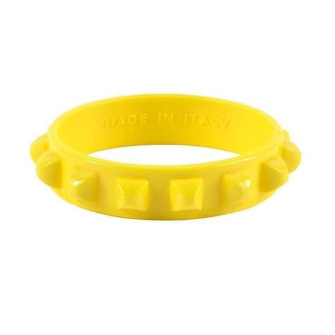 'Borchia' Studded Bracelet in Yellow
